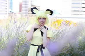 Dandelionswish in the Pokemon Gijinka Costume I made for her!